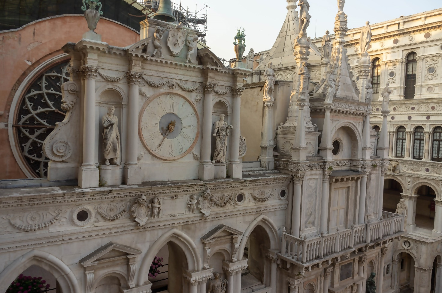 The Doge's Palace Clock