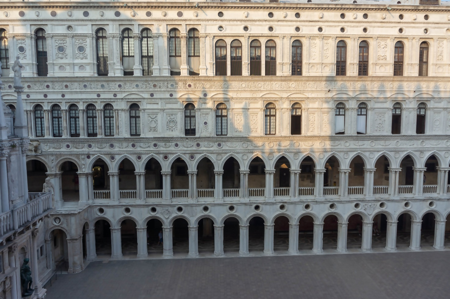The Doge's Palace inner yard
