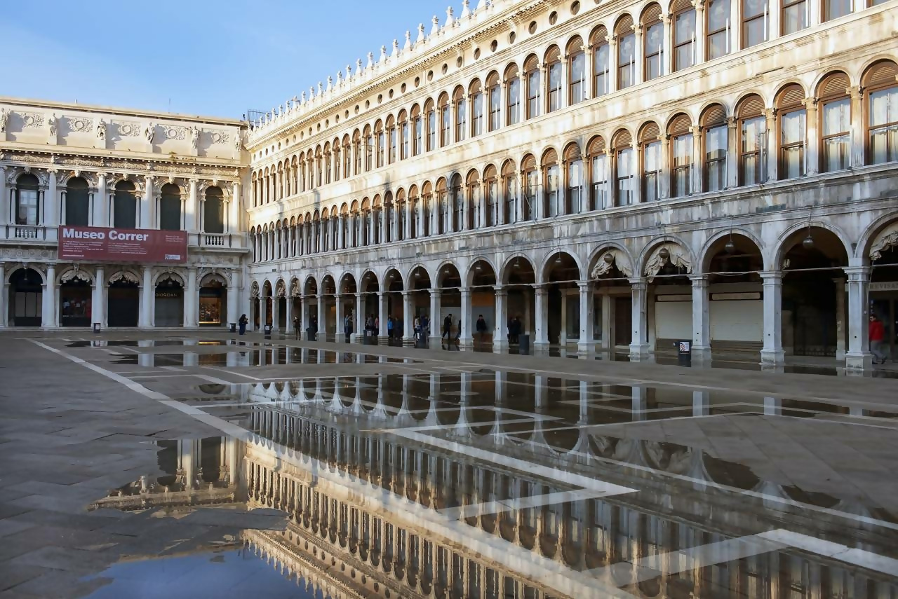 The Museo Correr in Venice