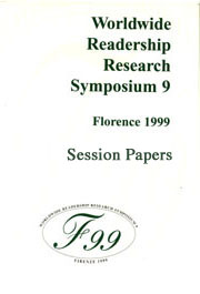 Worldwide Readership Research Symposium 9 Florence 1999 Session Papers