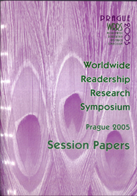 Worldwide Readership Research Symposium - Session Papers